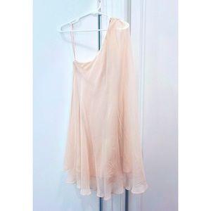 Halston Heritage Pink Silk Dress Size 0